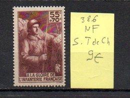 MAURY N° 386   NF Sans Trace De Charnière  N° 29 - Marcophilie (Timbres Détachés)