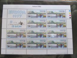 EUROPA CEPT - MALTA 1977 2 FOGLIETTI - 1977