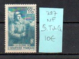 MAURY N° 387   NF Sans Trace De Charnière  N° 30 - Marcophilie (Timbres Détachés)
