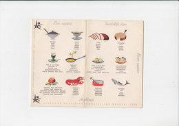 Expo 58 - Mahlzeit - Bon Appétit / Smakelijk Eten - Icoontjes In 4 Talen - Wereldtentoonstelling Brussel 1958 - Autres