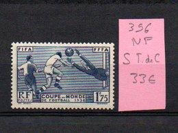 MAURY N° 396  NF Sans Trace De Charnière  N° 33 - Marcophilie (Timbres Détachés)