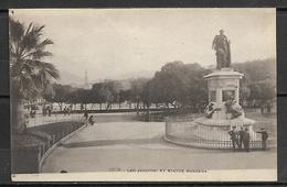NICE     -    Les  Jardins  Et  Statue  De  Massena. - Monuments, édifices