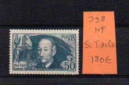 MAURY N° 398  NF Sans Trace De Charnière  N° 34 - Marcophilie (Timbres Détachés)