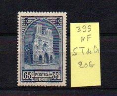 MAURY N° 399  NF Sans Trace De Charnière  N° 35 - Marcophilie (Timbres Détachés)