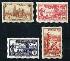 Costa De Marfil (Francesa) Nº 171/4* - Costa D'Avorio (1892-1944)