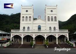 American Samoa Fagatogo Church New Postcard Amerikanisch-Samoa AK - Samoa Americana