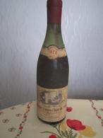 VIN 1978 BOURGOGNE HAUTES COTES DE NUITS Propriétaire Marcel FRIBOURG NUITS SAINT GEORGES PART DES ANGES 7 AU COLLIER - Vin