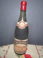 VIN 1982 MOULIN A VENT Propriétaire Barbier PALIN Négociant à CHARMES 88 PART DES ANGES 5,5 AU COLLIER - Vin