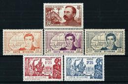 Costa De Marfil (Francesa) 3 Series* - Ivoorkust (1892-1944)