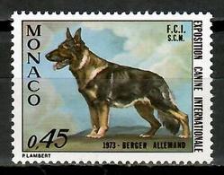 Monaco 1973 / Dog MNH Perro Hund Chien / Cu15621  29-43 - Perros