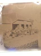 GRANDE PLAQUE PHOTO STEREO AMIENS BEAUVAIS FORGERON FABRIQUANT MACHINES AGRICOLES  MARECHAL FERRANT HENRY FRERES 803 - Photos Stéréoscopiques