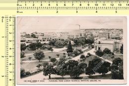 Australia Panorama From Gordon Technical Institute, Geelong, Victoria Vintage Postcard Post Card Carte Postale Par Avion - Geelong
