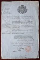 Ordre D'incorporation Dans La Légion Des Deux-Sèvres . Signé Gonnet , Sous-intendant Militaire à Niort . 1819 . - Documenten