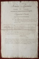 Armée Des Pyrénées 1794 . Comptabilité Centrale . Achats De Viande (boeuf Et Mouton) Pour 3,6 Millions De Livres . - Documenten