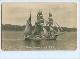 U9209/ Segelschiff Schulschiff Niobe Foto AK  Ca.1928 - Voiliers