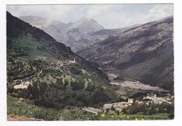 73 Sur La Route Du Col De L'Iseran N°21 14 Sainte Ste Foy Tarentaise Vers Bourg St Maurice Vue Générale En 1970 - Bourg Saint Maurice
