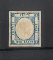 2124 C - Province Napoletane - 2 Gr - Azzurro Chiaro  - Anno 1861 - Napoli