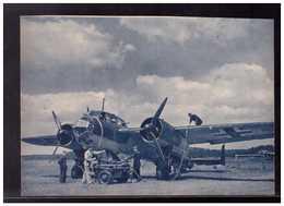 DT- Reich (008940) Propagandakarte Die Schwarzen Jungs Vom Bodenpersonal Machen Ein Kampfflugzeug, Ungebraucht - Germany
