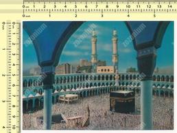 The Holy Ka'ba Masjid Al-Haram In Mecca Al-Mukarramah 3d Vintage Postcard Rppc Pc Ppc Original Carte Postale Post Card - Iran