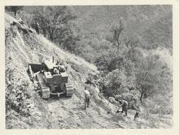 CP Guerre Algérie Une Des Tâches De L'armée De Pacification Construction D'une Piste - Guerres - Autres