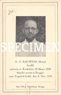 E.P. Bauwens Michel Jezuïet -  Koekelare - Koekelare