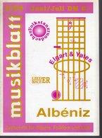 Revue De Musique -  Musikblatt N° 3- 1989 - Elgart & Yates - Musique