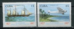 Cuba 1997 / Ships Airplane MNH Barcos Aviacion Bateaux Schiffe / Cu3329  22-45 - Barche