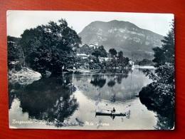 (FG.V30) BORGOSESIA - BARCA SUL FIUME E MONTE FENERA (VERCELLI) VIAGGIATA 1952 - Vercelli