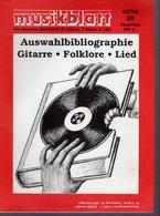 Revue De Musique -  Musikblatt N° 5 - 1988 - - Musique