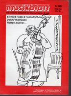 Revue De Musique -  Musikblatt N° 6 - 1988 - Bernard Hebb- - Musique