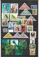 1604i: Motive Vögel Aus Aller Welt, Mit Hologramm- Serie ! - Colecciones & Series