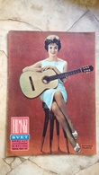 VINTAGE 1963 YUGOSLAVIA FILM MOVIE MAGAZINE NEWSPAPERS Caterina Valente SHELLEY WINTERS ROMY SCHNEIDER - Livres, BD, Revues