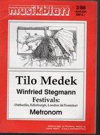 Revue De Musique -  Musikblatt N° 3 - 1988 - Tilo Medek - Musique