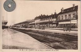 54 - Carte Postale Ancienne De  JARNY   Intérieur De La Gare - Jarny