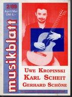 Revue De Musique -  Musikblatt N° 3 - 1989 - Uwe Kropinski - Musique