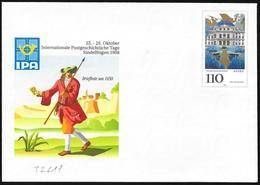 """Germania/Germany/Allemagne: Intero, Stationery, Entier, """"IPA '98"""" - Esposizioni Filateliche"""
