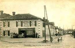 SOUSTONS  =  Hotel De La Paix , Tenu Par Monbet  1290 - Soustons