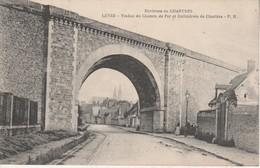 28 - LEVES - Viaduc Du Chemin De Fer Et Cathédrale De Chartres - Lèves