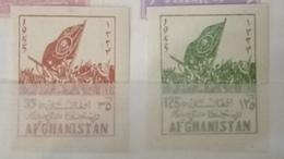Afghanistan 1955 Set Tribal Elders' Council And Pashtun Flag Mh* - Afghanistan