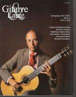 Revue De Musique -  Gitarre & Laute - N° 4 - 1997 - Carlos Barbosa-lima - Musique