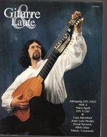 Revue De Musique -  Gitarre & Laute - N° 2 - 1997 - Lutz Kirchhof - Musique