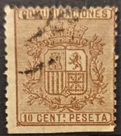 SPAIN 1874 - Canceled - Sc# 211 - 10c - Gebraucht
