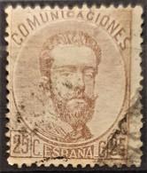SPAIN 1872/73 - Canceled - Sc# 184 - 25c - 1872-73 Königreich: Amédée I.
