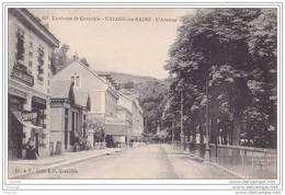 38) Environs De Grenoble - Uriage Les Bains - L 'Avenue - (animée - Coiffeur) - Uriage