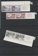 1192 à 1195  ** Les Timbres Sont ** Bord De Feuille Avec Défaut (collé Dans Cahier) Cote 45€ - Ungebraucht