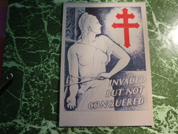 1 Carte Postale  COMITE DES FRAN9AIS LIBRES AUX ETATS UNIS - Evenementen