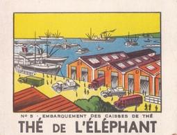 THE DE L'ELEPHANT / EMBARQUEMENT DES CAISSES DE THE N°5 - Thé & Café