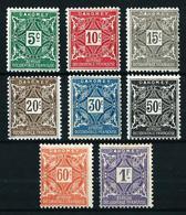 Dahomey (Francés) Tasa-9/16*/(*) Cat.10,25€ - Unused Stamps