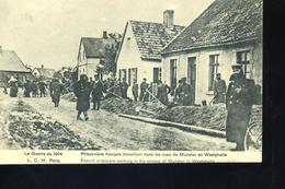 PRISONNIERS Francais à Munster Westphalie - Personen