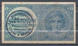 BOHEME ET MORAVIE 1 Koruna 1939 - Tchécoslovaquie